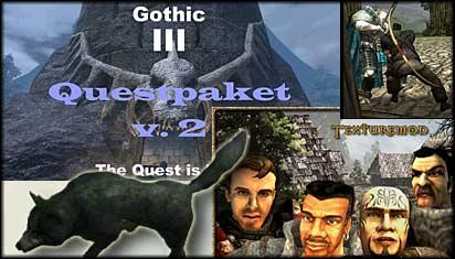 Gothic 3 Sammelmod 0.1 - так уж сложилось, что для Готики 3 глобальных моди